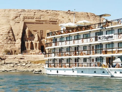 nile cruise excursions in egypt